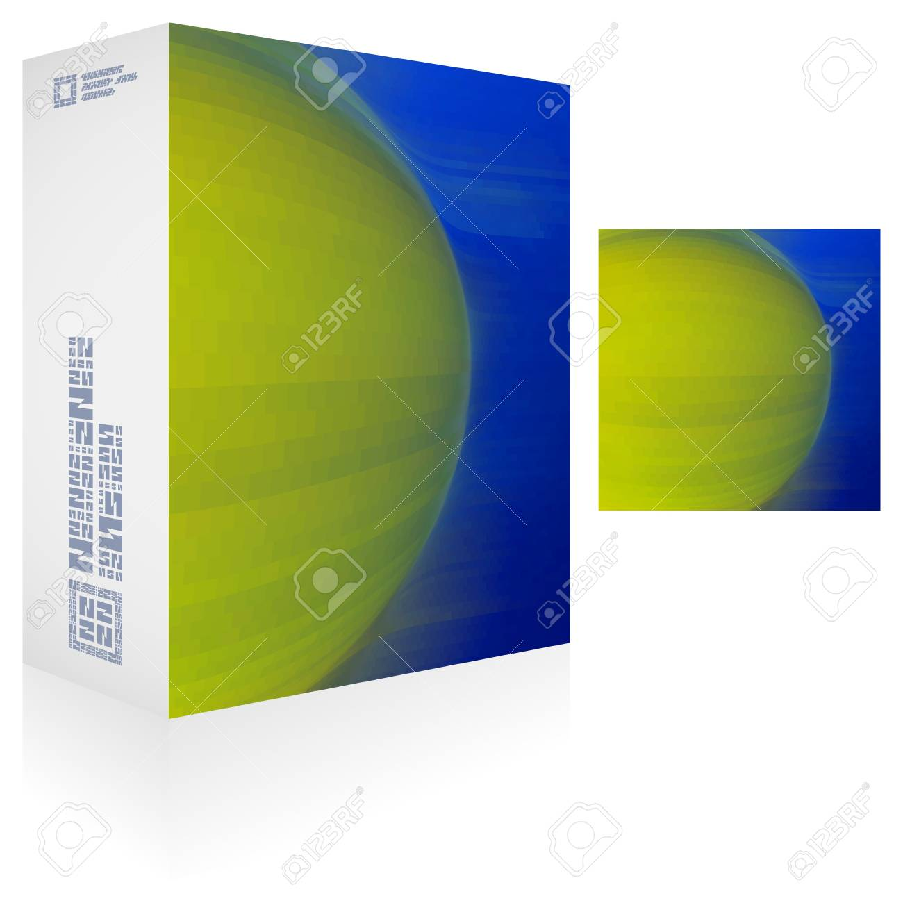 Packaging box Stock Vector - 18486576