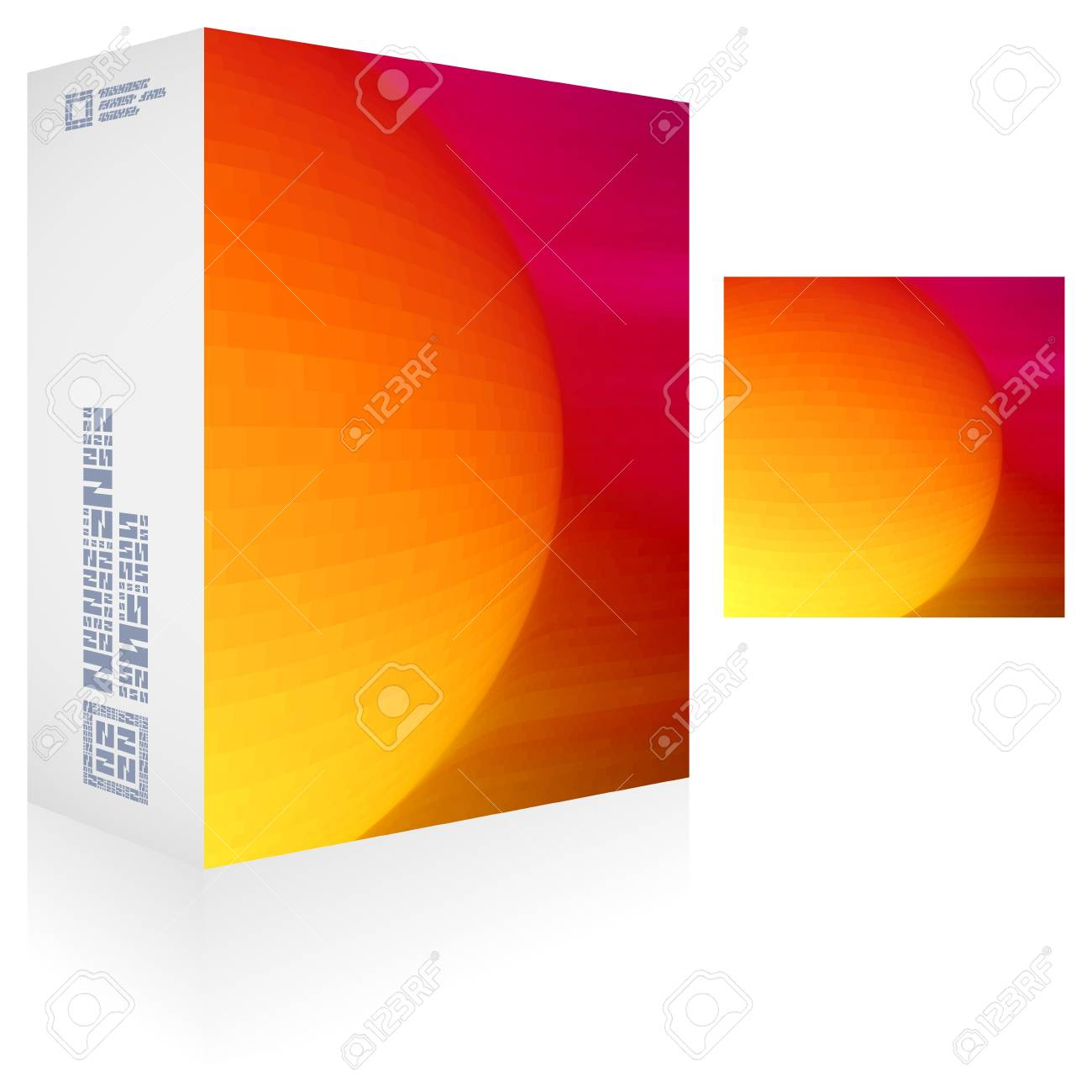 Packaging box Stock Vector - 18748554