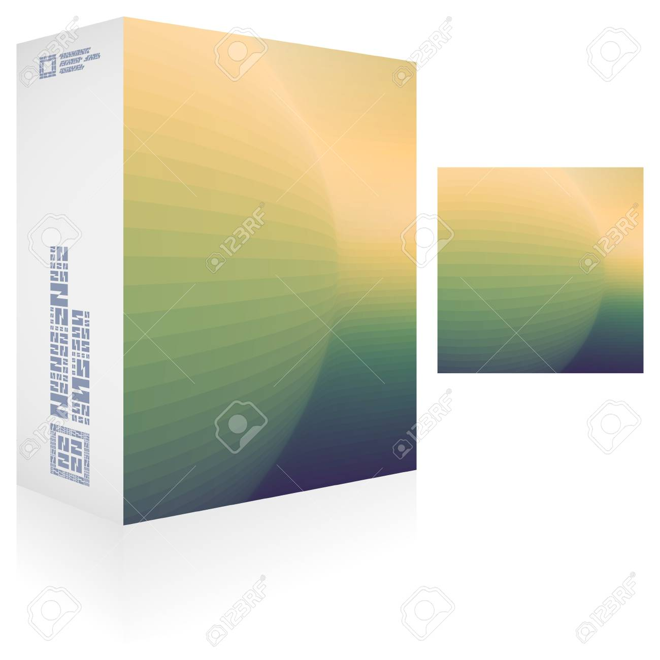 Packaging box Stock Vector - 18395526