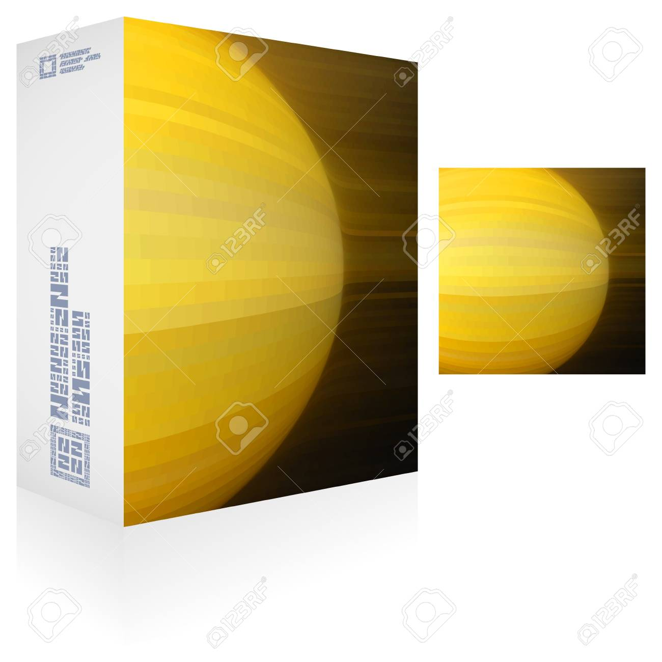 Packaging box Stock Vector - 18395628