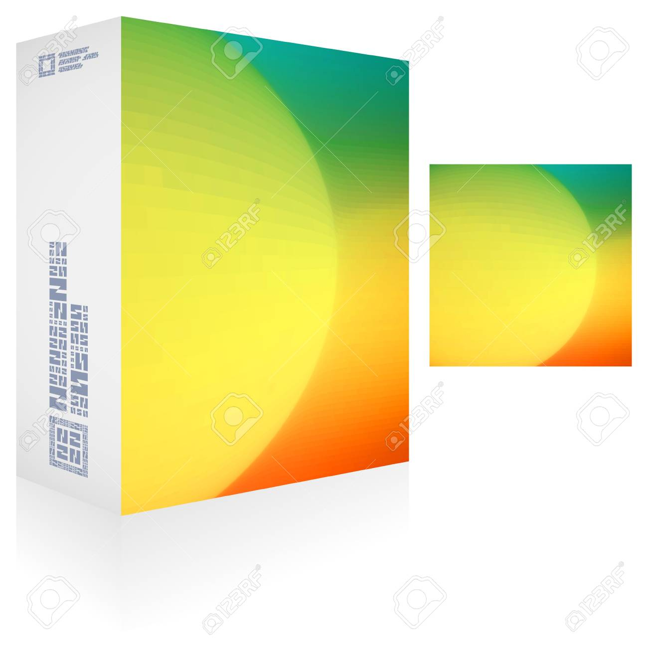 Packaging box Stock Vector - 18395617