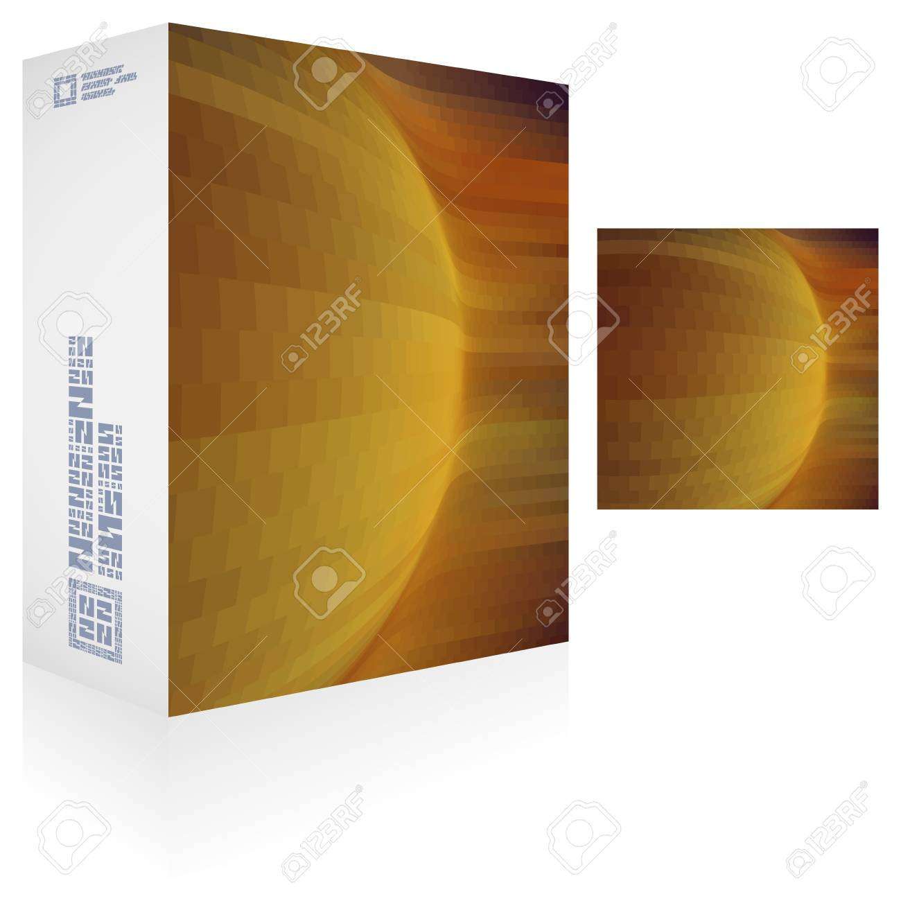 Packaging box Stock Vector - 17504048