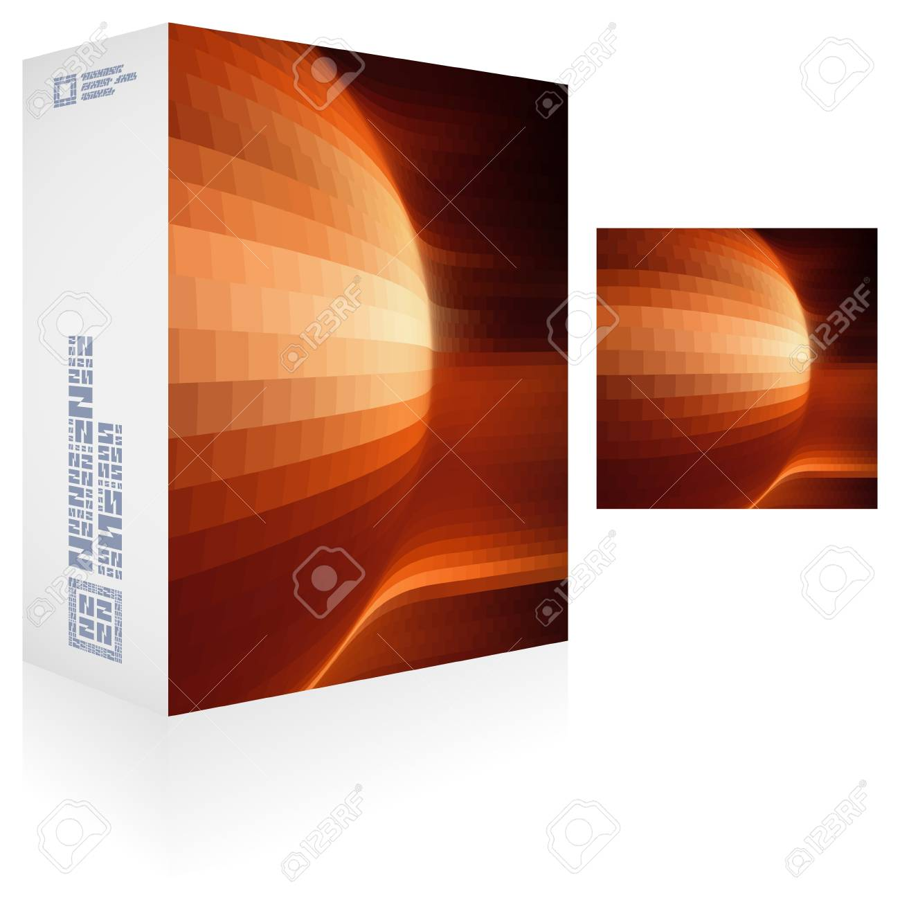 Packaging box Stock Vector - 17389617