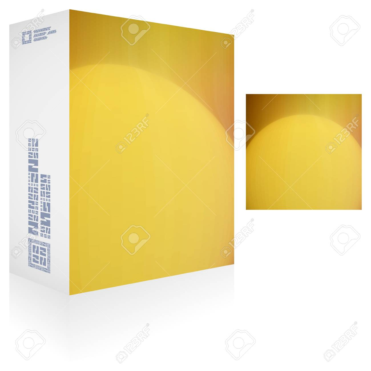 Packaging box Stock Vector - 17383672
