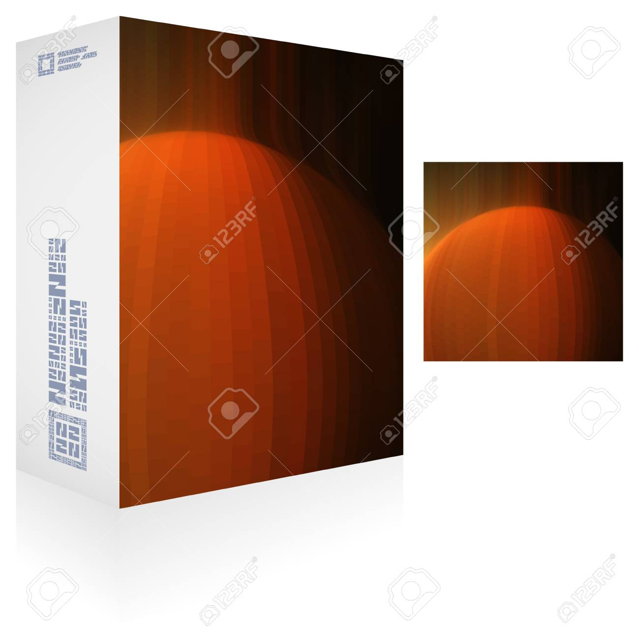 Packaging box Stock Vector - 16628763