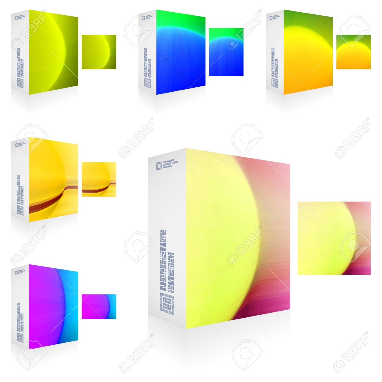 Packaging box Stock Vector - 16627810