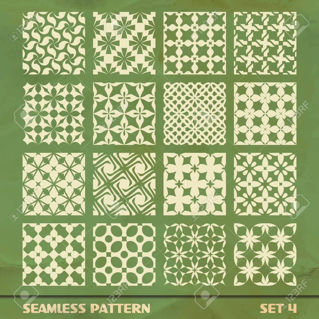 SEAMLESS PATTERN  SET 4 Stock Vector - 17431136