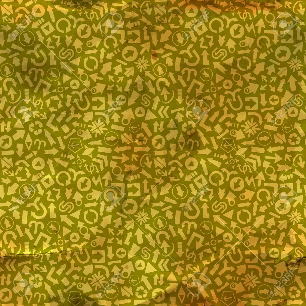Arrows  Seamless pattern Stock Vector - 17503791
