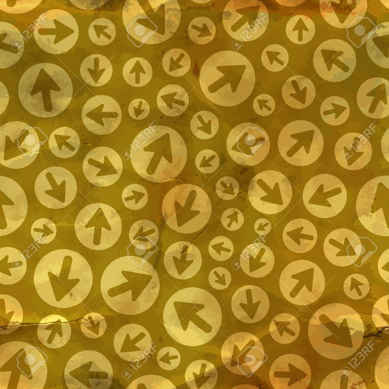 Arrows  Seamless pattern Stock Vector - 17517327