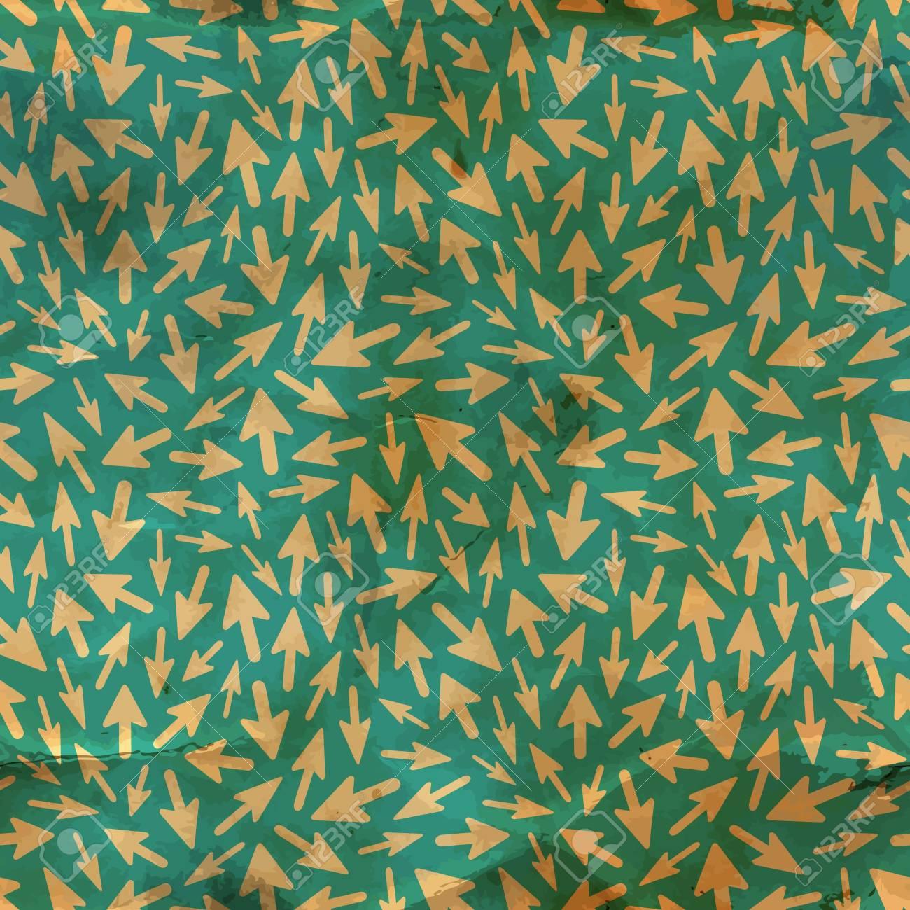 Arrows  Seamless pattern Stock Vector - 17517411