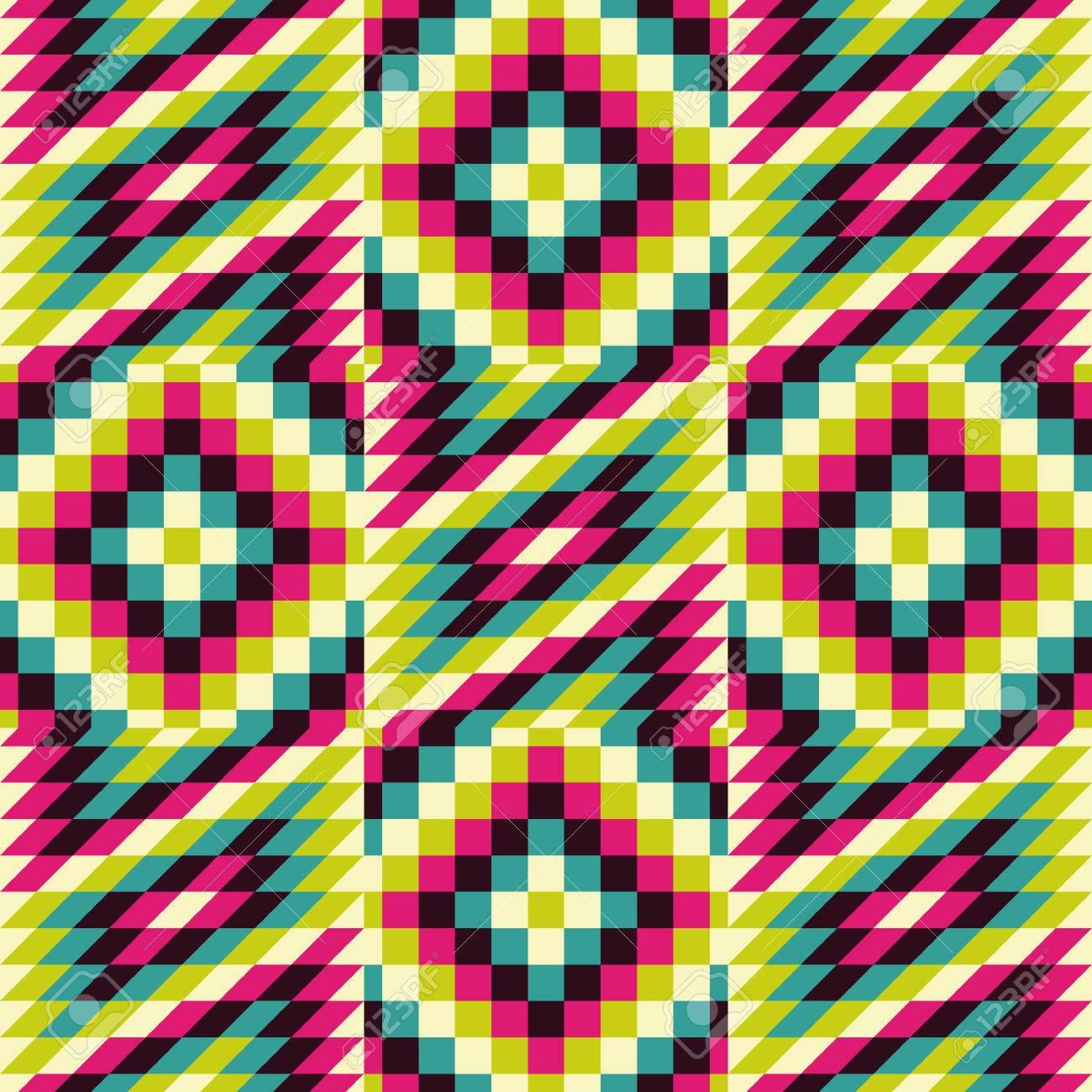 Nahtlose Muster. Mosaik Vektor-Illustration. Vorlage Für Das Design ...