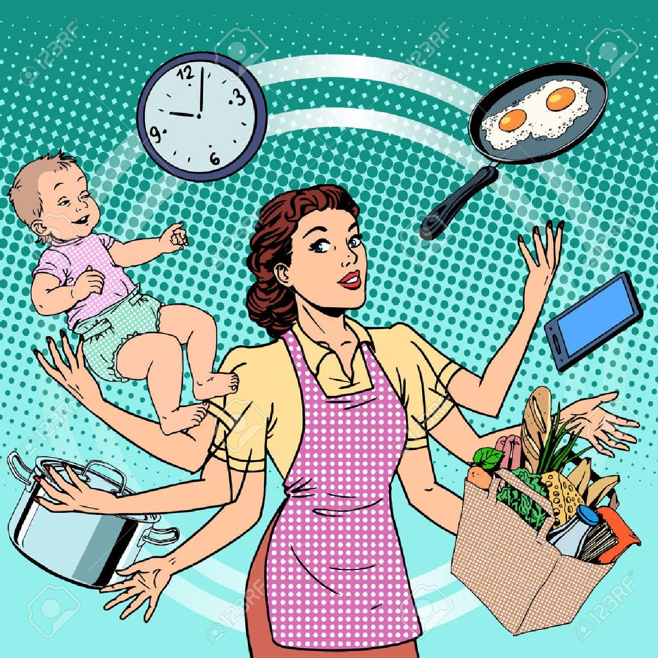 Картинка профессия домохозяйка 6