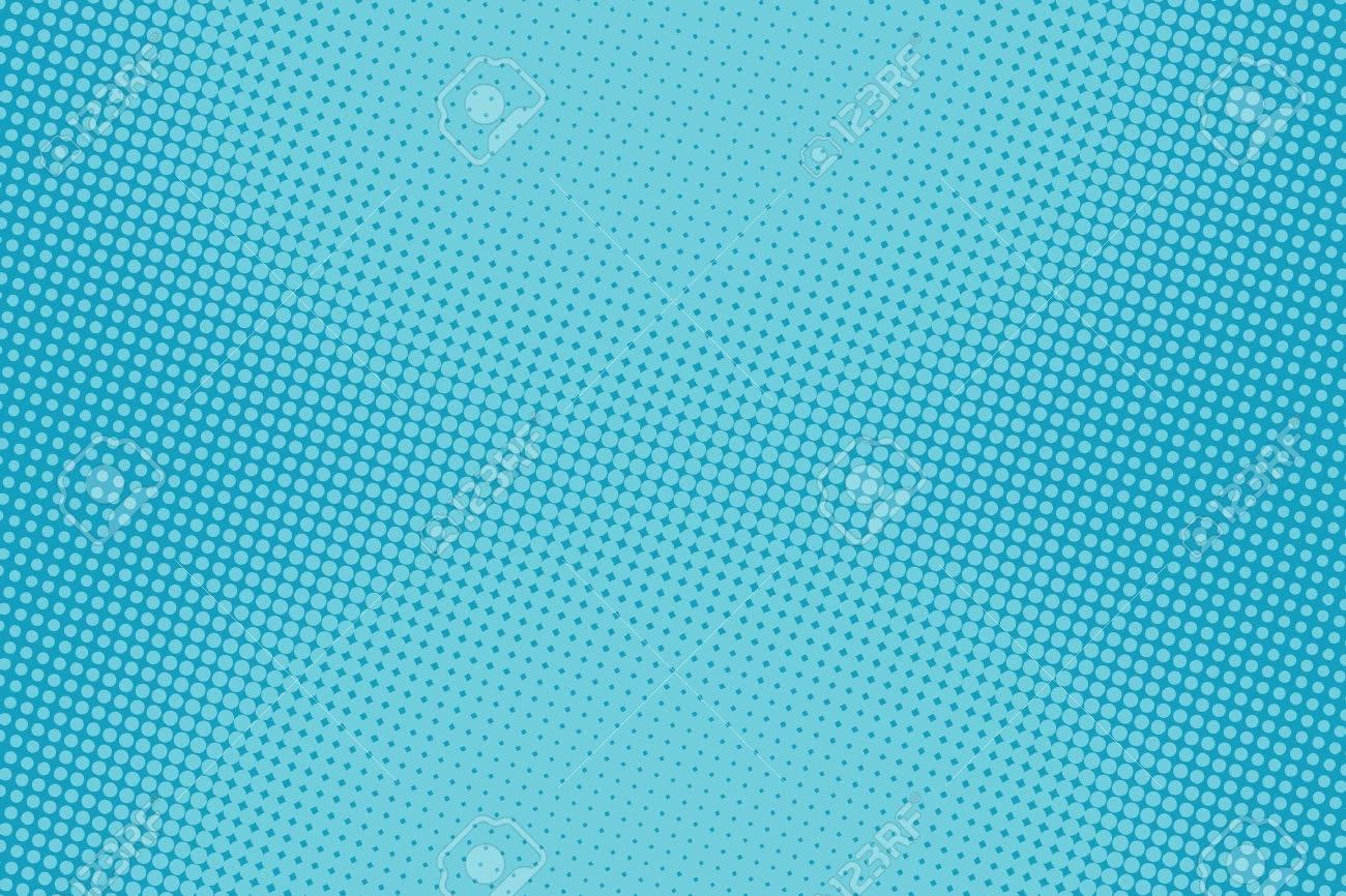 retro comic blue background raster gradient halftone pop art retro style - 57231127