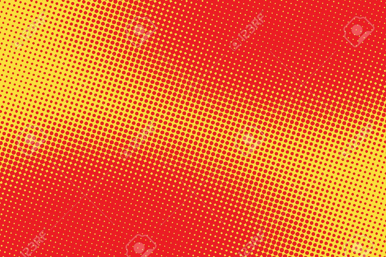 retro comic red pink background raster gradient halftone pop art retro style - 57231195
