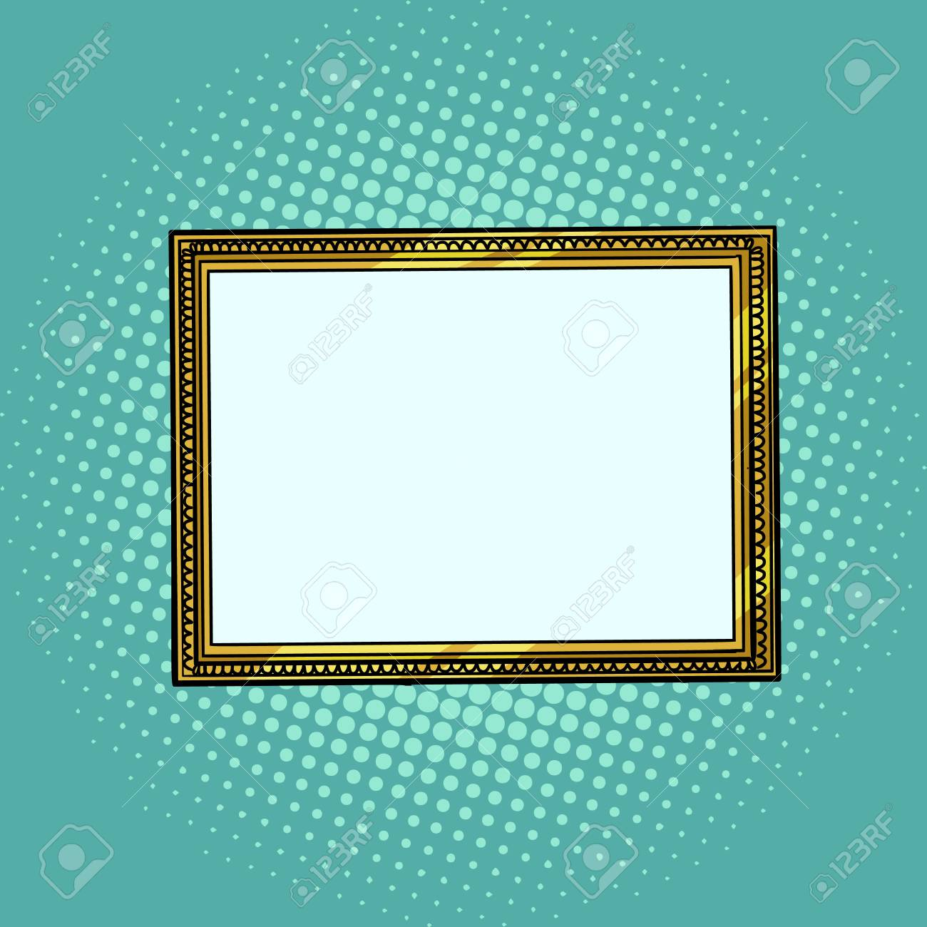 picture frame, blank pattern - 123120773