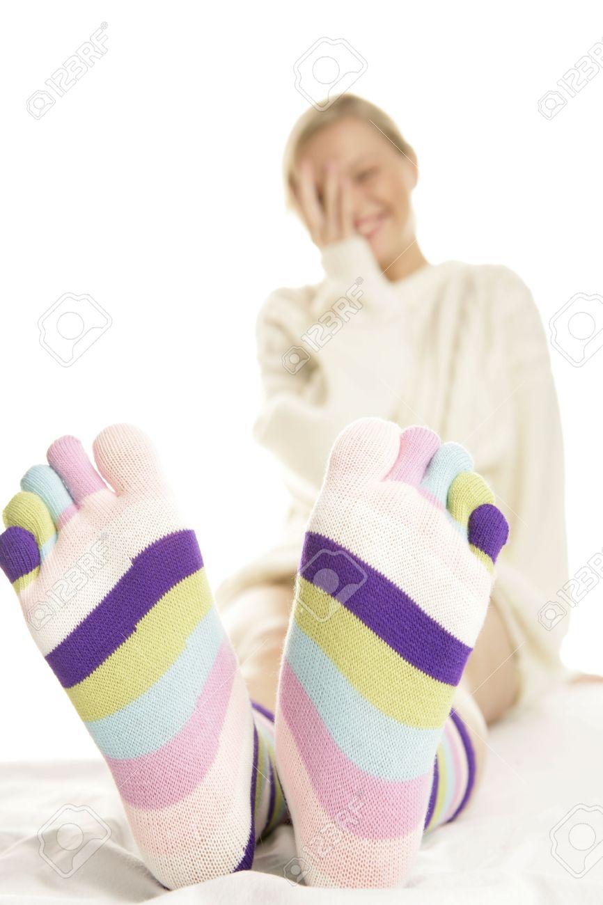 Pics of teen girls blonde feet