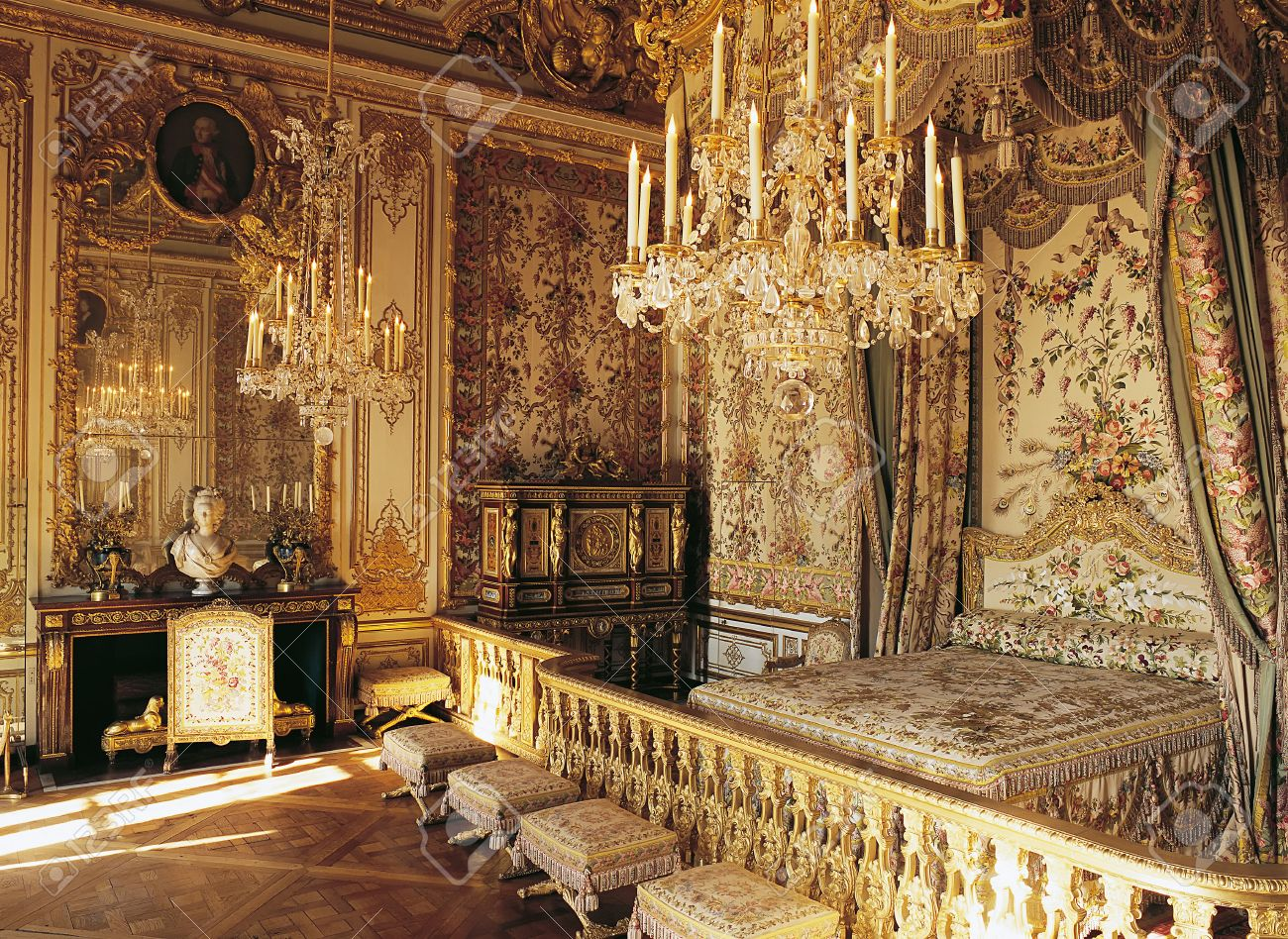 Cool Versailles France 10 August 2014 Marie Antoinette Room At Home Interior And Landscaping Palasignezvosmurscom
