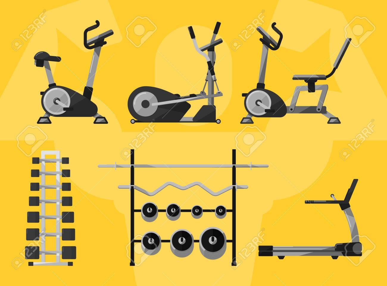 gym equipment gym gym workout gym interior fitness equipment