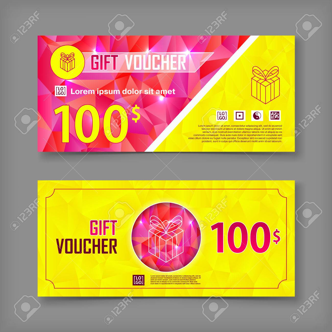 coupon vector image