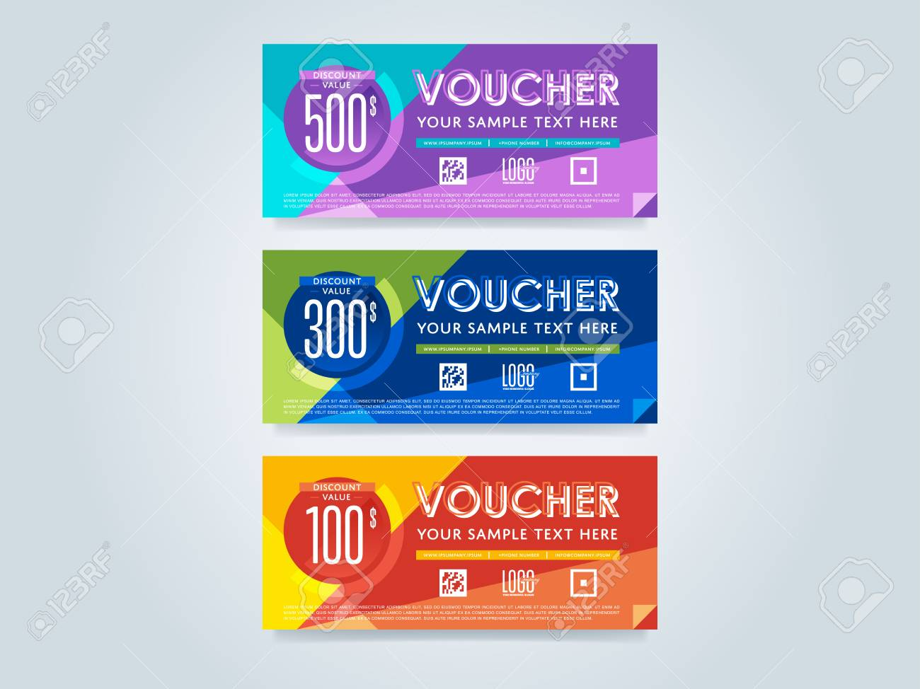 Gift discount voucher template vector layout special offer gift discount voucher template vector layout special offer coupon business voucher layout accmission Image collections