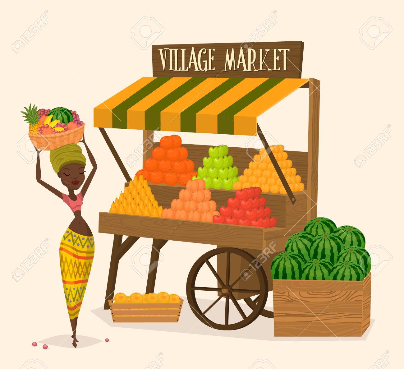 local farmer shopkeeper seller fresh vegetables farmers market rh 123rf com farmers market clipart images Farmers Market Signs