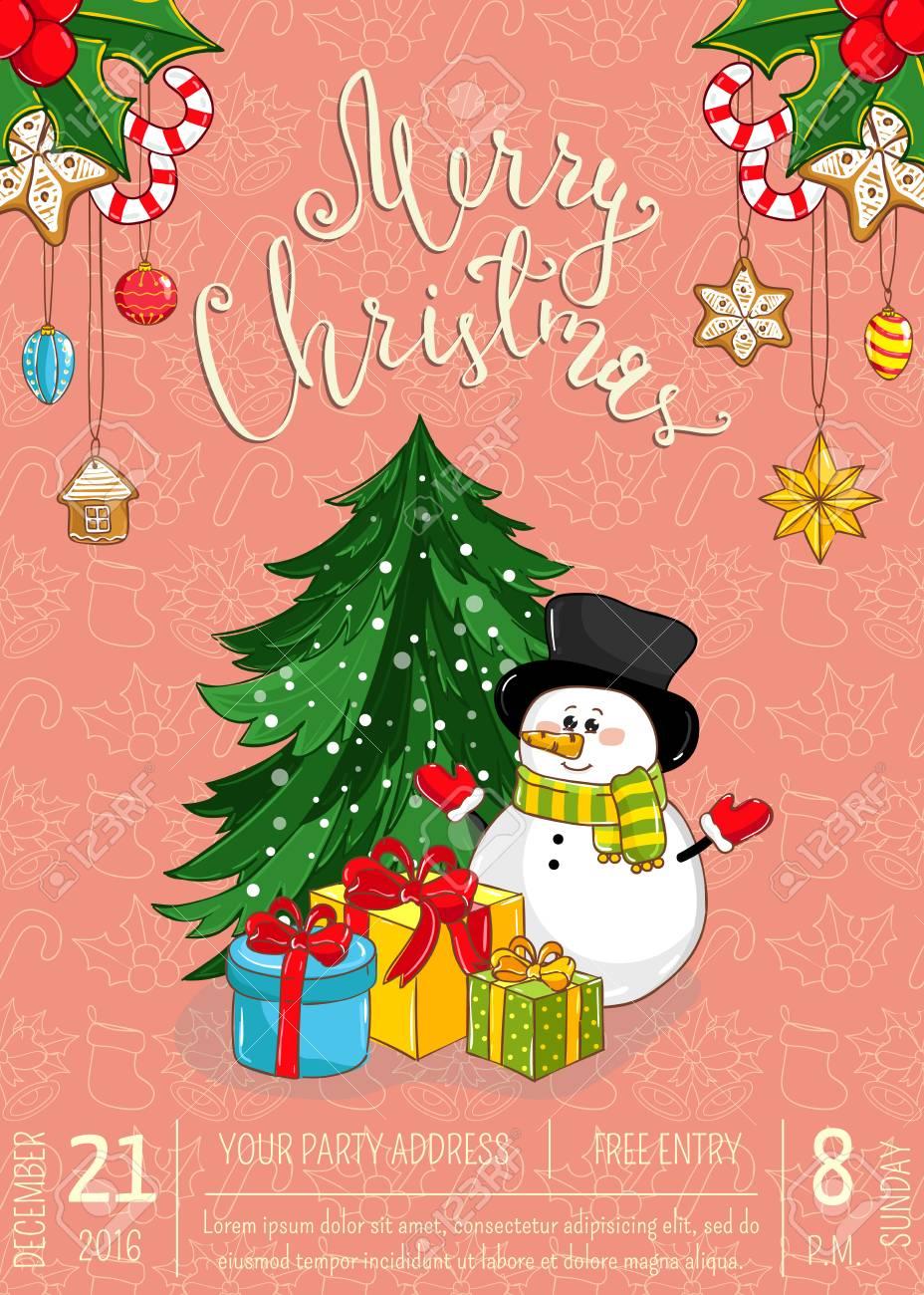 Dibujos De Arboles De Navidad A Color. Estrella De Navidad. Pagina ...