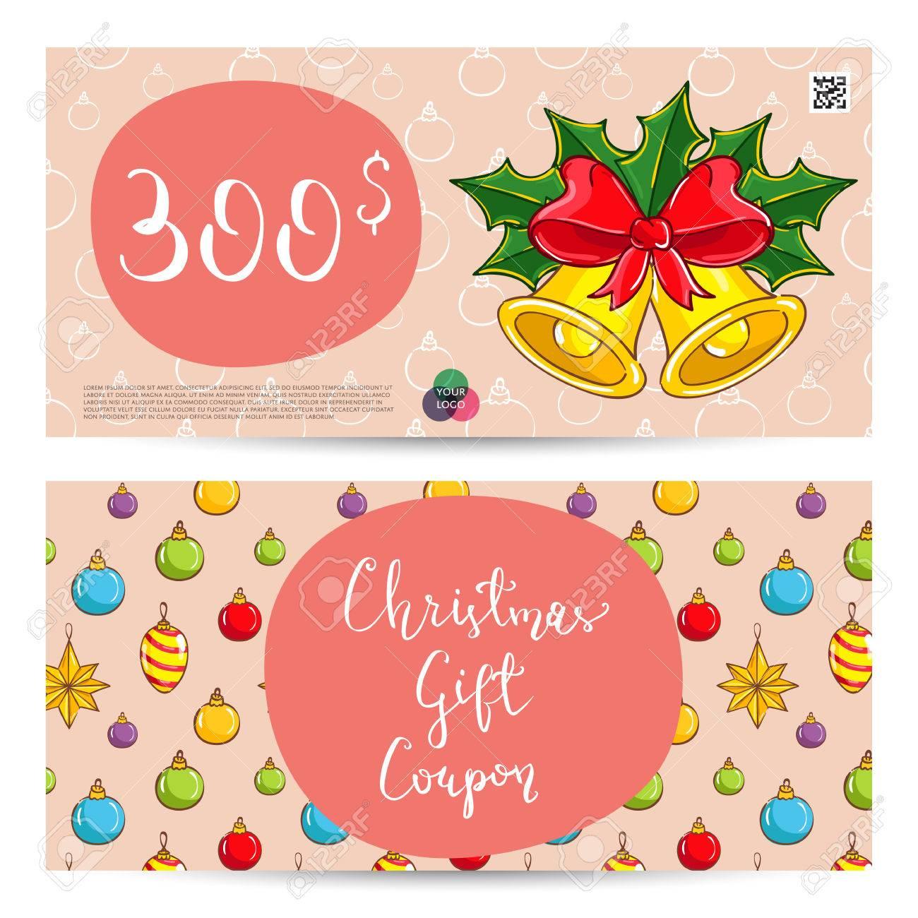 christmas gift coupon part 45 printable blank coupon template