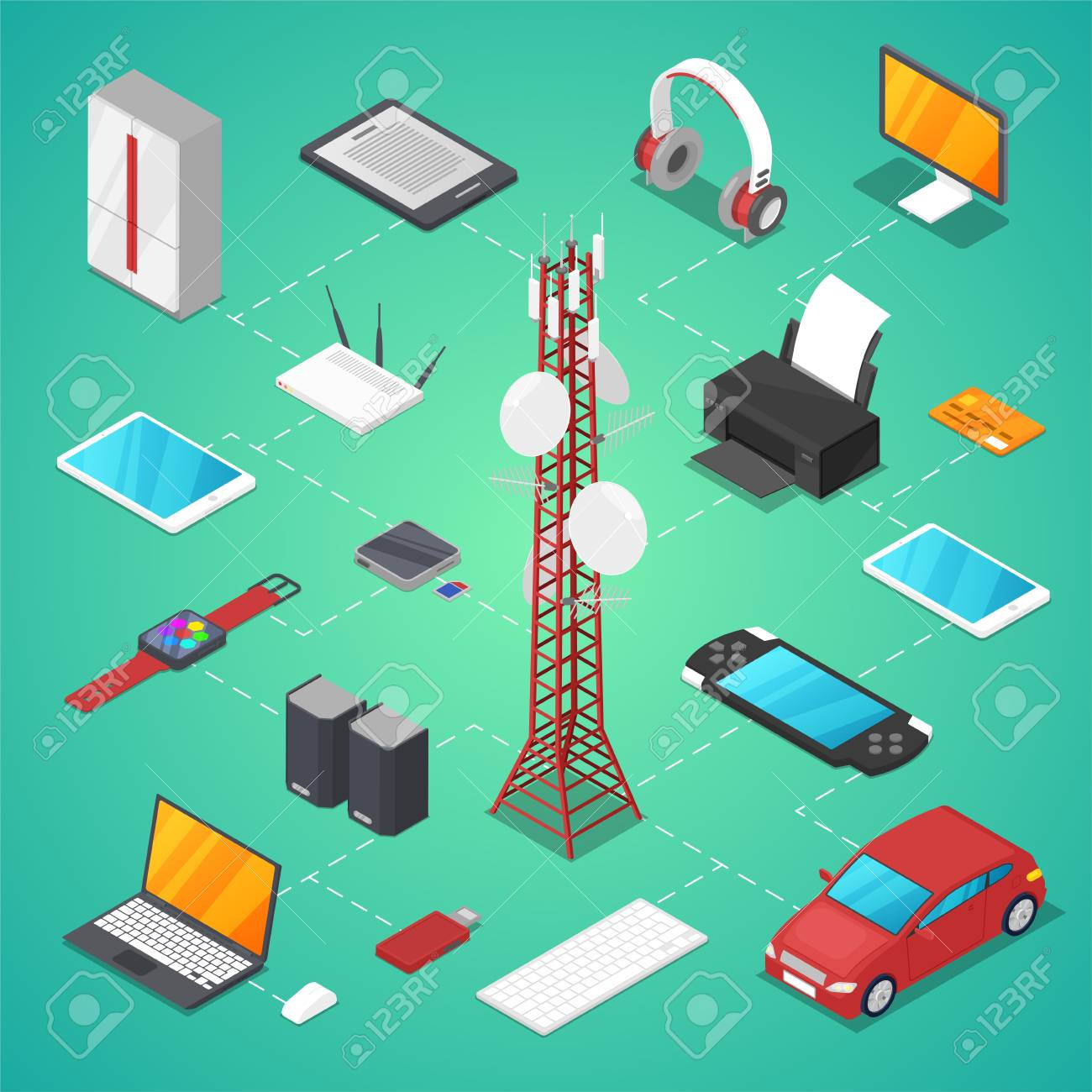 How to setup a wireless router with a tablet gallery wiring table wireless technologies isometric 3d vector set tv tower smart vector wireless technologies isometric 3d vector set keyboard keysfo Image collections