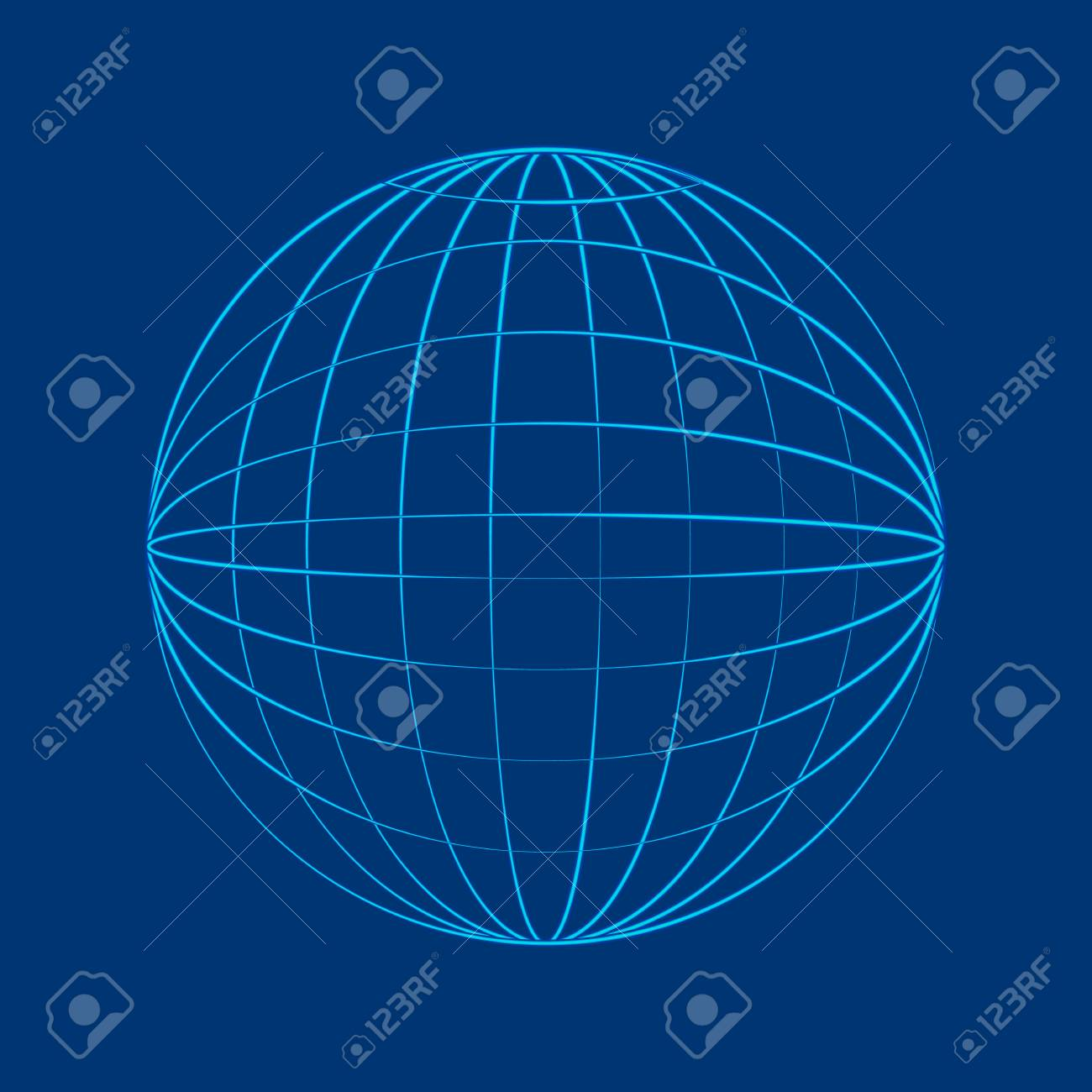 Globe Wireframe Flat Wire Center Circuit Amplifiercircuitsaudio Lilydzc1inductioncookercircuit In Style Royalty Free Cliparts Vectors And Rh 123rf Com Vector Clip Art Dot