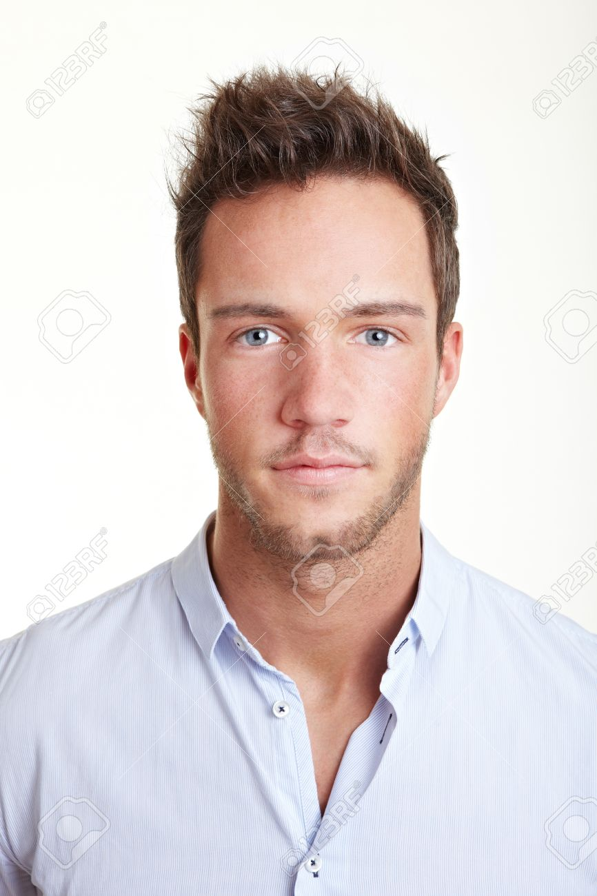 Head shot of young business attractive man Stock Photo - 12361585