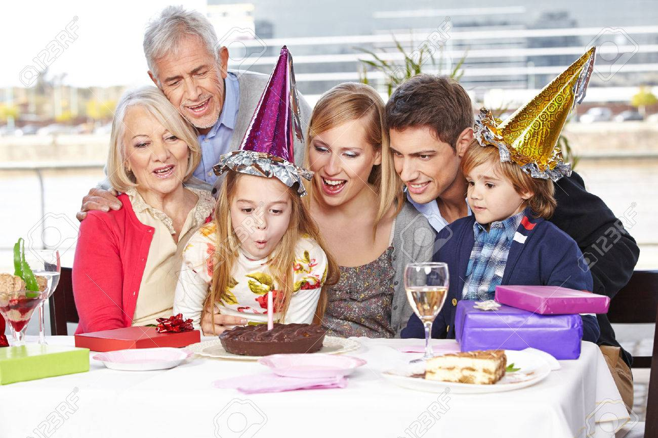 Combined Family Birthday Parties foto