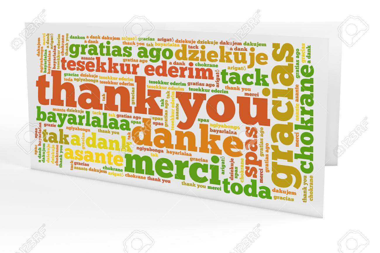 Greeting card with many thank you notes in different languages greeting card with many thank you notes in different languages stock photo 37362827 kristyandbryce Choice Image