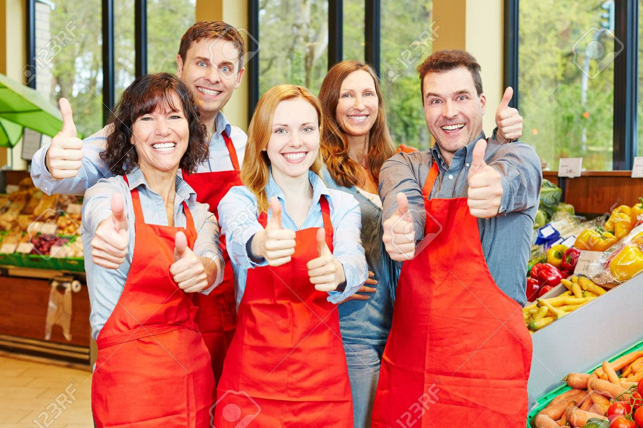 Image result for supermarket staff images