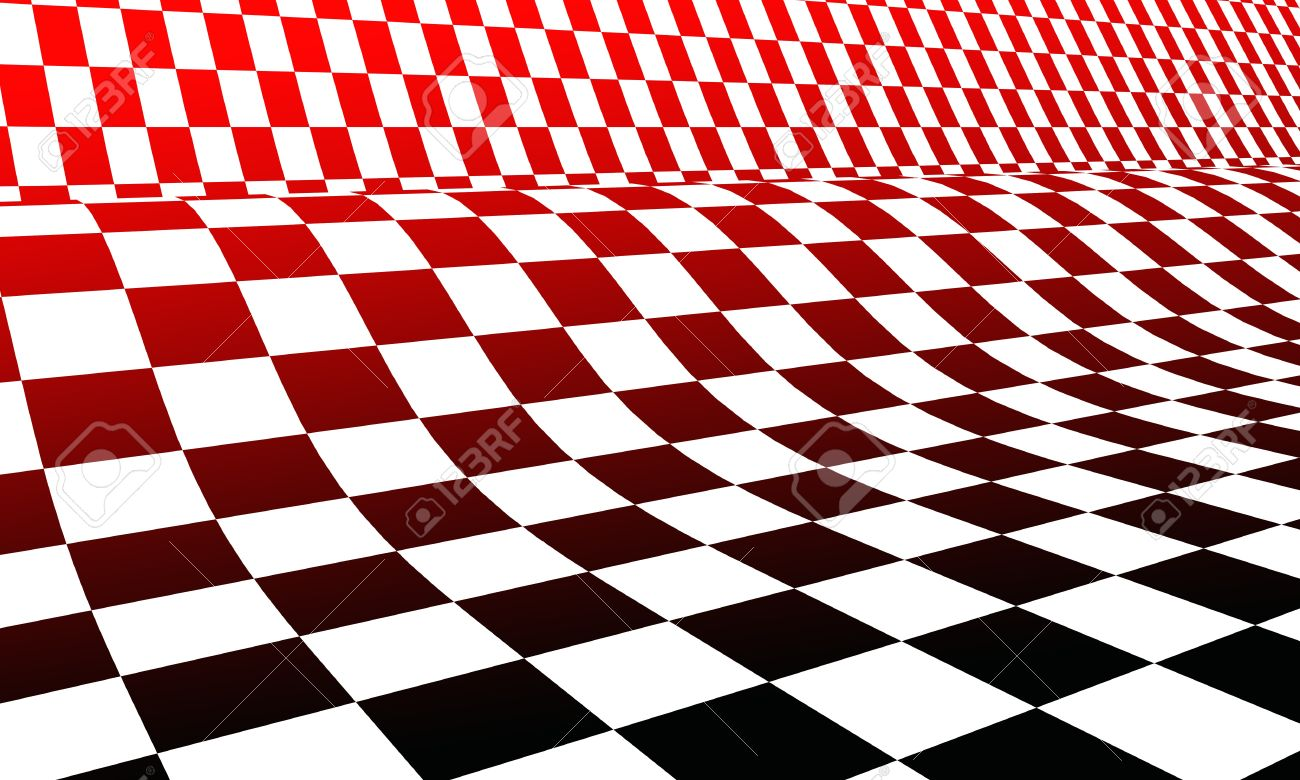 Racing Flag Red Black White Stock Photo Picture And Royalty Free