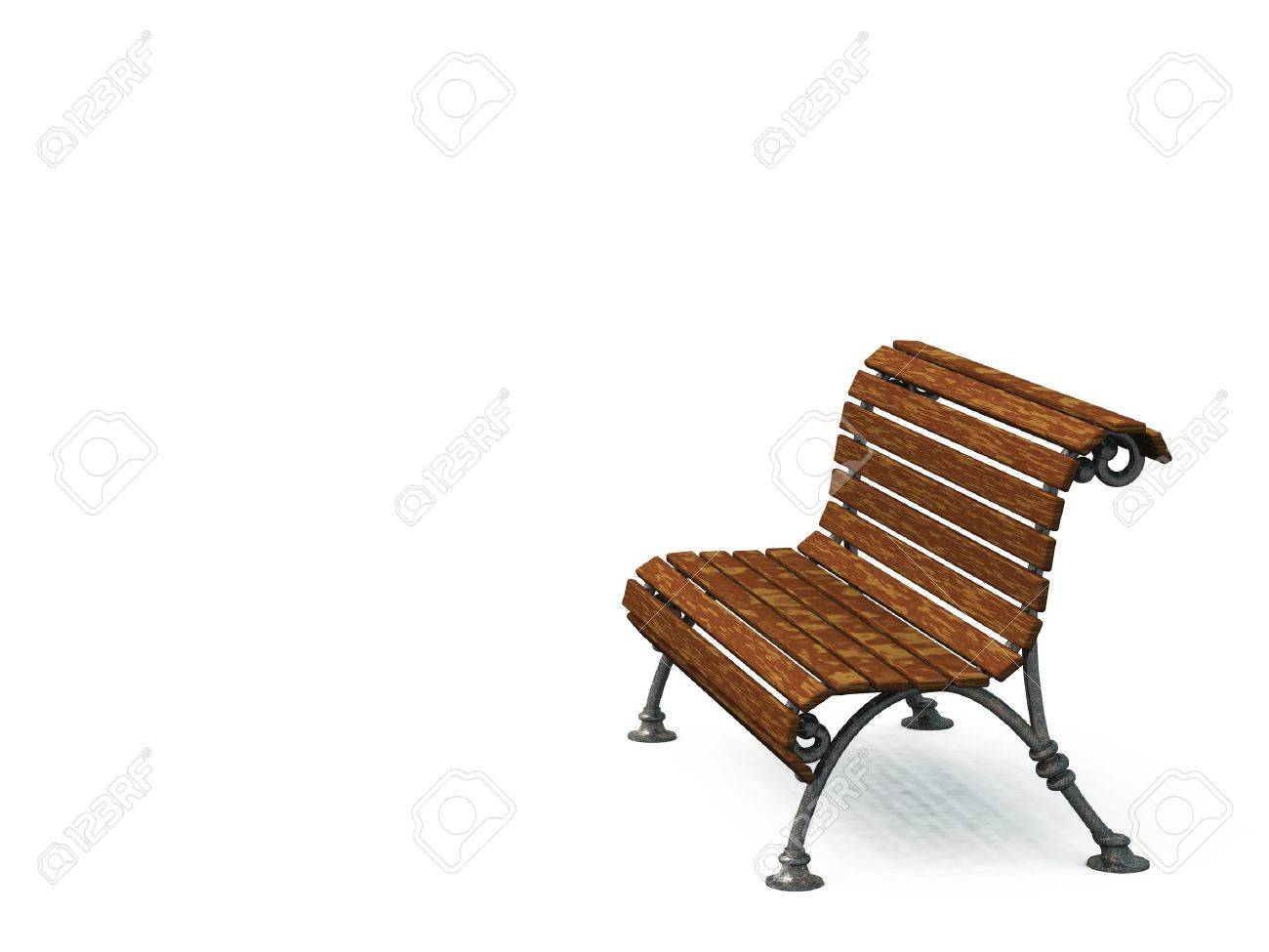 Old Park Bench Stock Photo Picture And Royalty Free Image Image