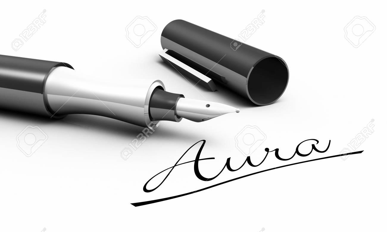 Aura - pen concept Stock Photo - 13945249