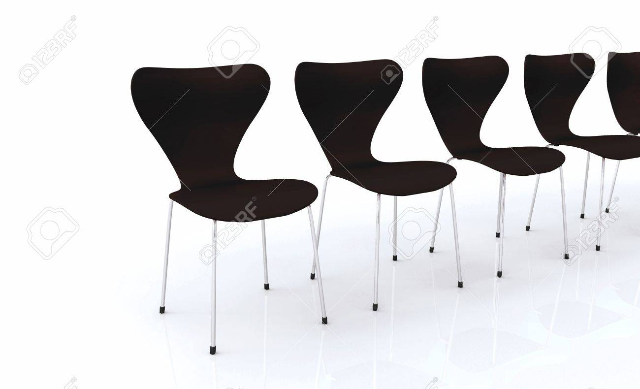 Designer Chair Series - Black Silver Stock Photo, Picture And ...