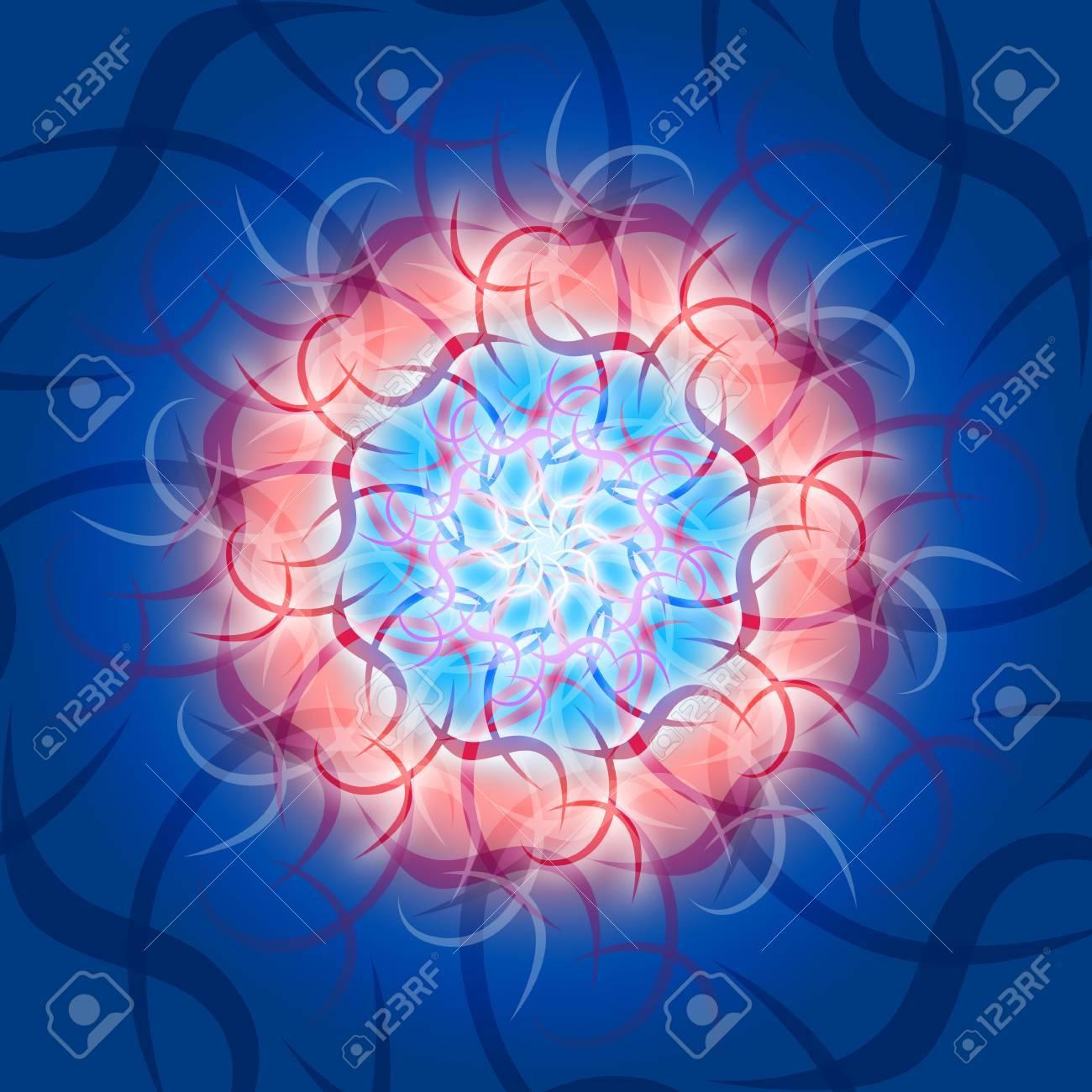 Kosmic mandala Waves Stock Photo - 14380901