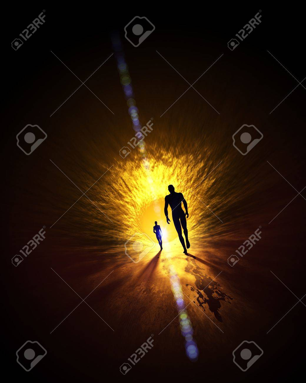 The light at the end of the tunnel Stock Photo - 14401521
