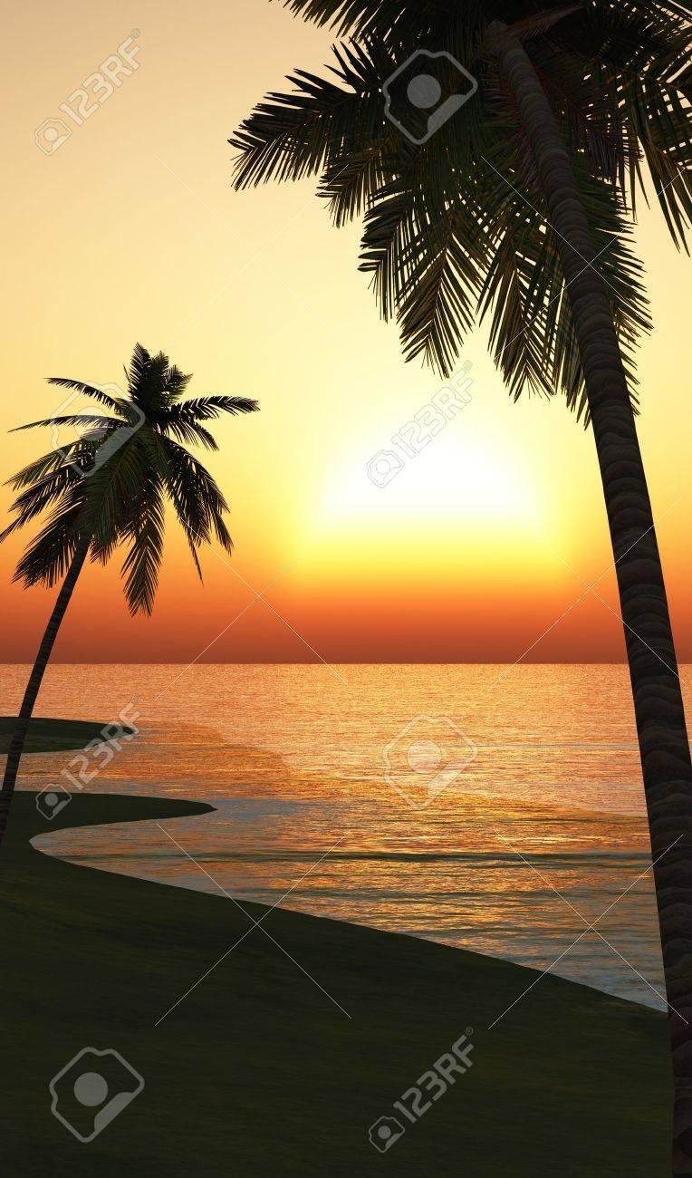 Chillout Ibiza Sunset Beach 02 Stock Photo - 14586870