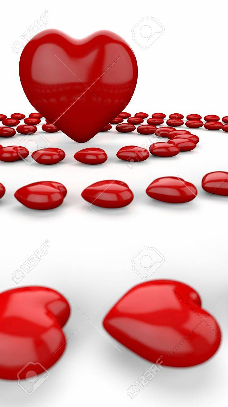 Love is all around me Stock Photo - 14586910