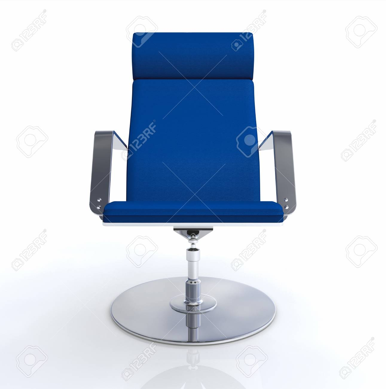Excutif Chaise Design Bleu Argent Banque DImages Et Photos Libres