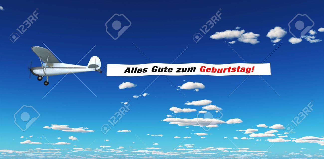 Air Marketing - Happy Birthday Stock Photo - 14839690