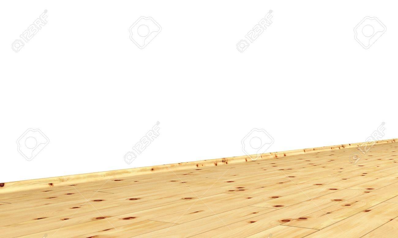 Wall with diagonal wood floor - pine Stock Photo - 15888240