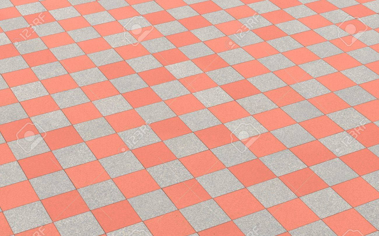 Checkered pattern floor tiles red grey stock photo picture and checkered pattern floor tiles red grey stock photo 16526175 dailygadgetfo Image collections