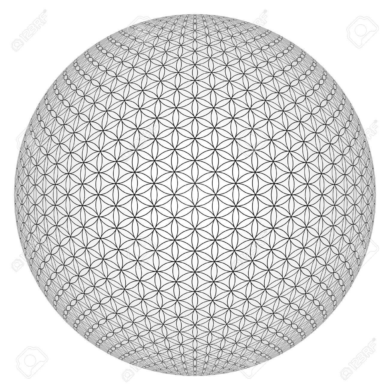 Ball 3d Fleur De Vie Libere Banque D Images Et Photos Libres De