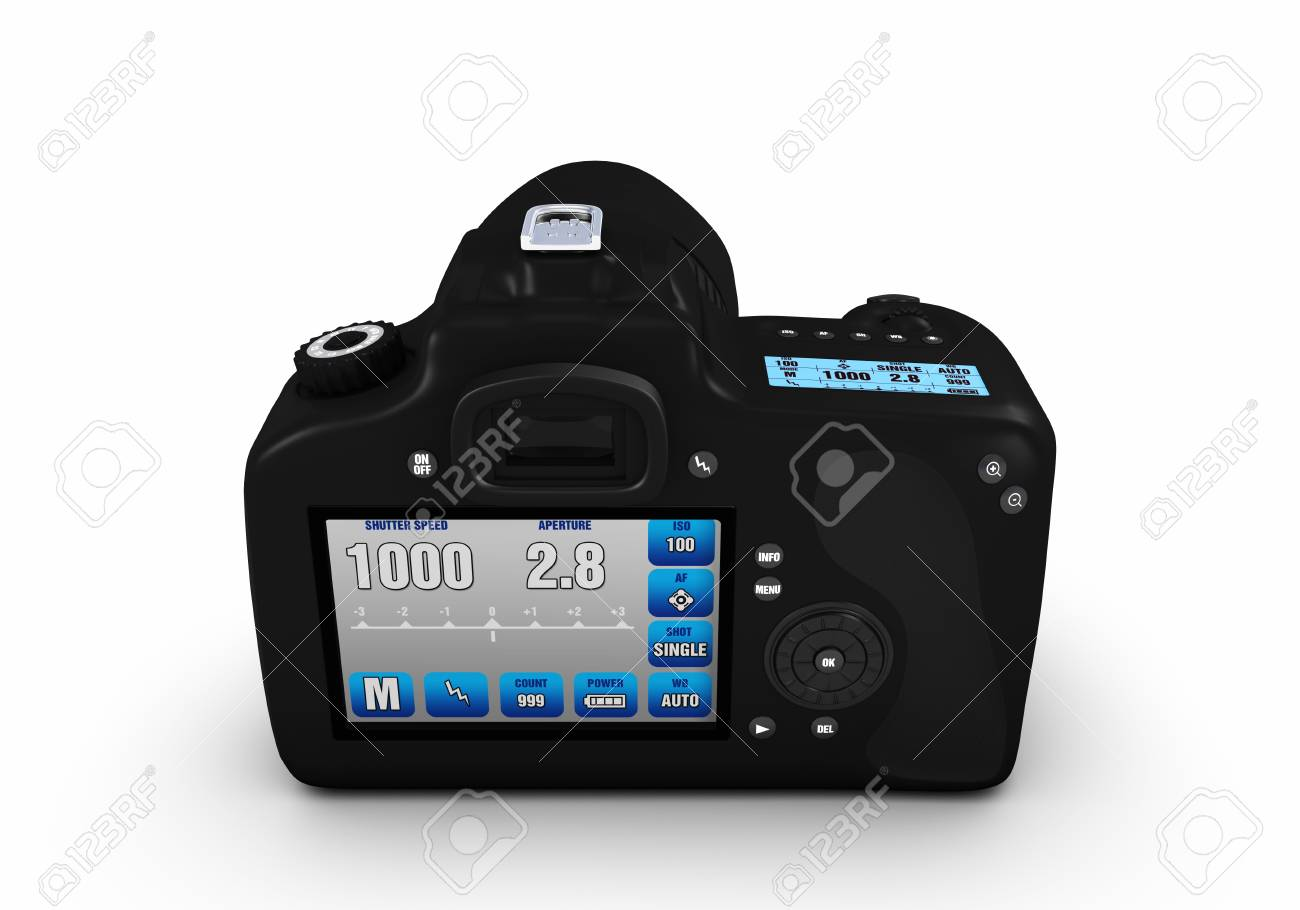 Digital SLR 360� views Stock Photo - 19661081