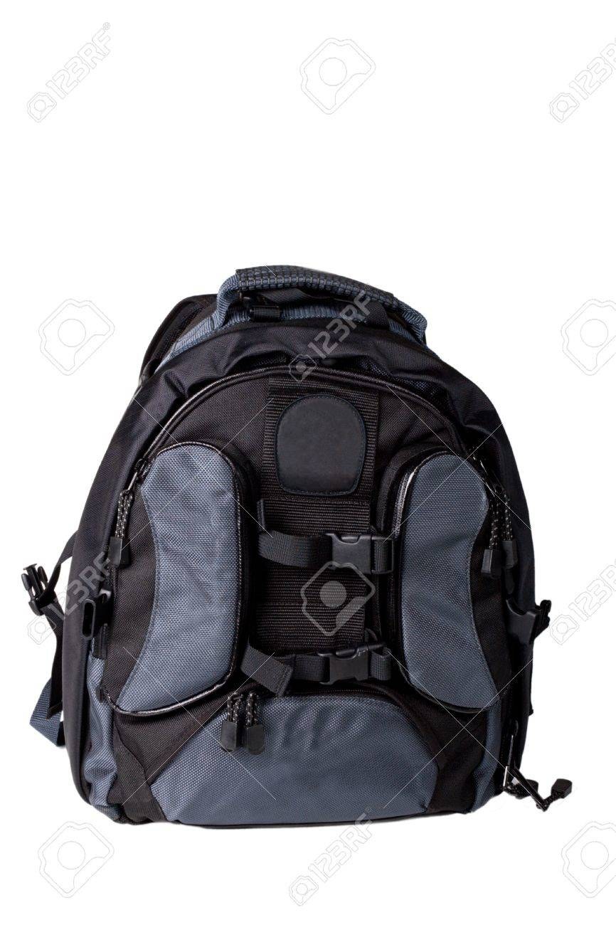 Photo backpack on a white background - 12728992
