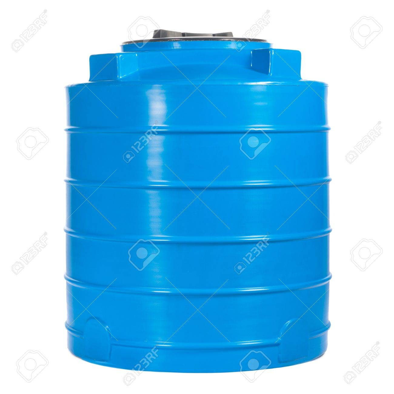 Big polyethylene container of 400 liters. - 14793426