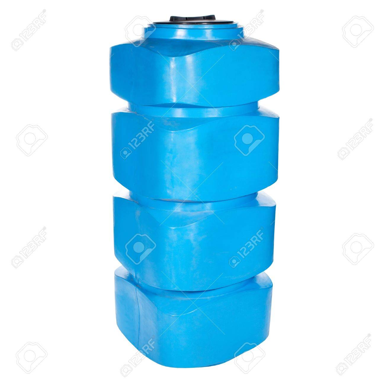 Big polyethylene container of 600 litres  Used for accumulation,